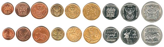 Imagen De Las Monedas Del Rand Sudafricano
