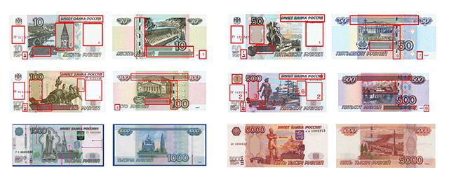 Imagen De Los Billetes Del Rublo Ruso