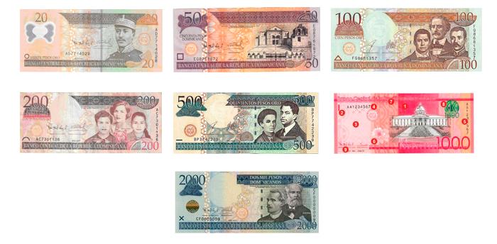 Imágenes De Los Billetes Del Peso Dominicano