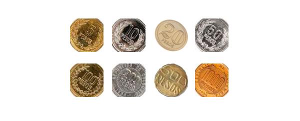 Imágenes De Las Monedas Del Peso Colombiano